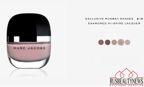Marc Jacobs Beauty Enamored Hi-Shine Lacquer Runway Shades look3