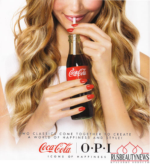 OPI Coca Cola look
