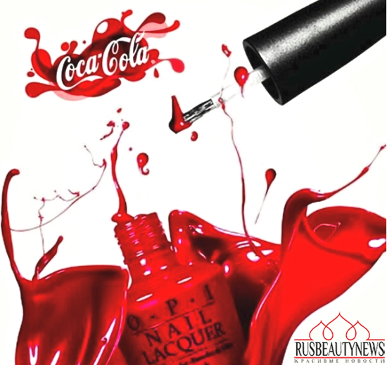 OPI Coca Cola look2
