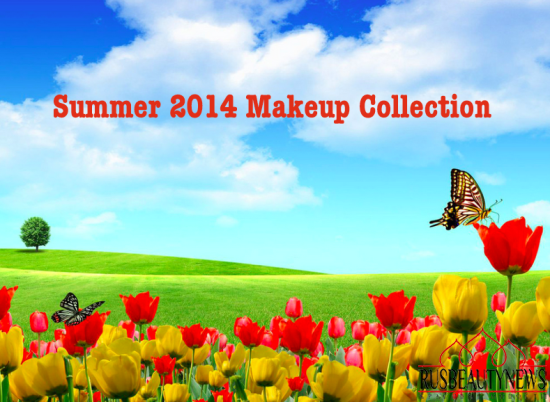 Summer 2014 makeup collection