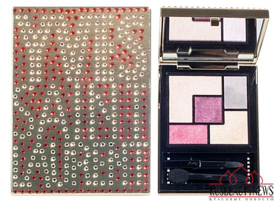 YSL Swarovski Embellished Couture Palettes look1