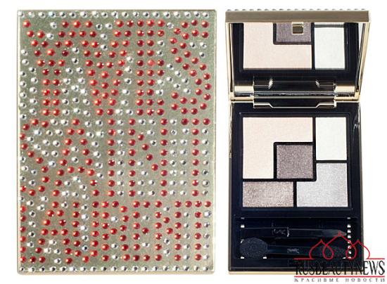 YSL Swarovski Embellished Couture Palettes look4