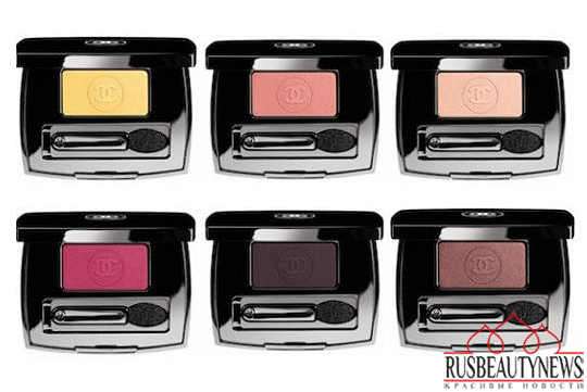 Chanel Fall 2014 États Poétiques Collection eyeshadow
