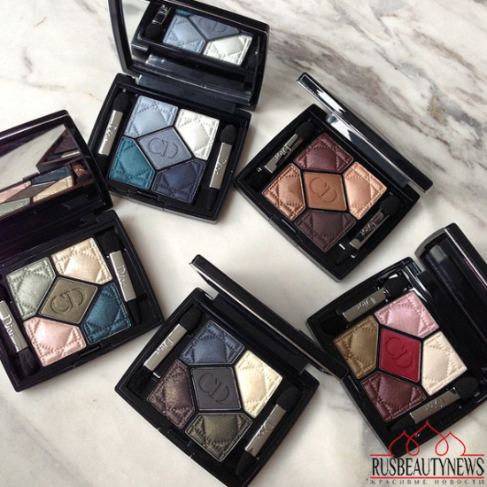 Dior 5 Couleurs Eyeshadow Palettes for Fall 2014 look2