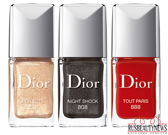 Dior Color Icons Fall 2014 Collection nail