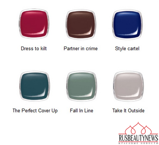 Essie Dress to Kilt Fall 2014 Collection цвета