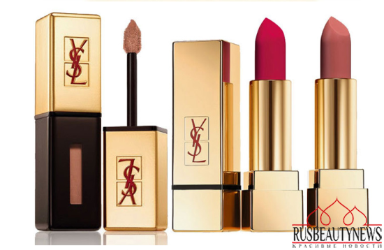 YSL Leather Fetish Fall 2014 Collection lipp