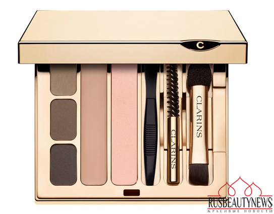 Clarins Ladylike Fall 2014 Collection eye and brow palette