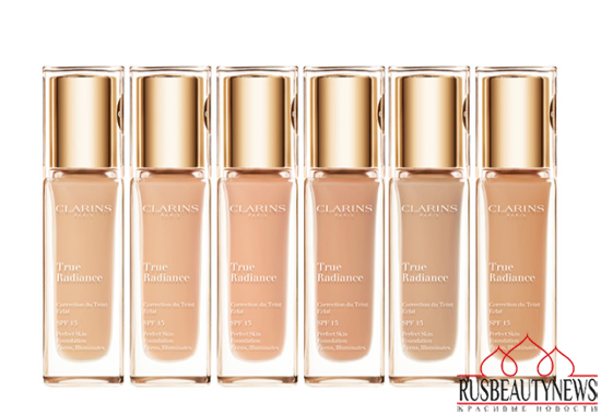 Clarins True Radiance Foundation look2