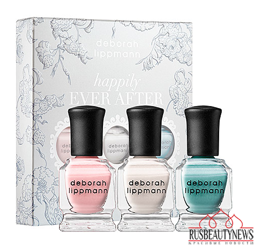 "Deborah Lippmann ""Happily Ever After"" bridal set"