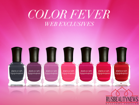 Deborah Lippmann Color Fever Collection