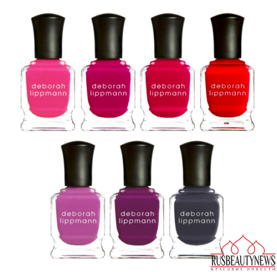 Deborah Lippmann Color Fever Collection look2