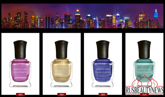Deborah Lippmann New York Marquee Collection look2