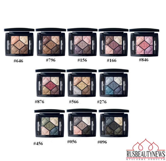Dior Fall Winter 2014 Makeup Collection eyeshadow