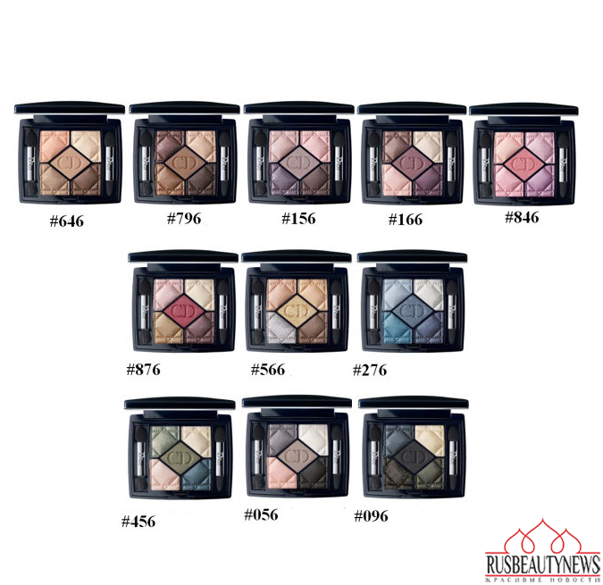 Dior Fall Winter 2014 Makeup Collection