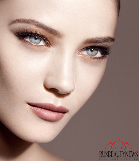 Giorgio Armani Fall 2014 Makeup Collection look