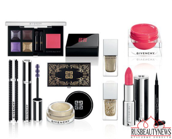 Givenchy Extravagancia Fall Winter 2014 Makeup Collection look2