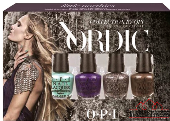 OPI Nordic Collection for Fall 2014 набор