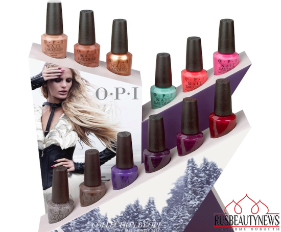 OPI Nordic Collection for Fall 2014 look2