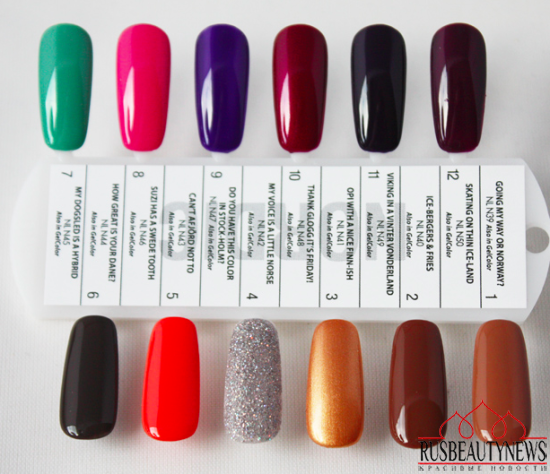 OPI Nordic Collection for Fall 2014 sw
