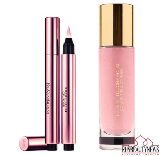 YSL Rose Glow Summer 2014 Collection  look2