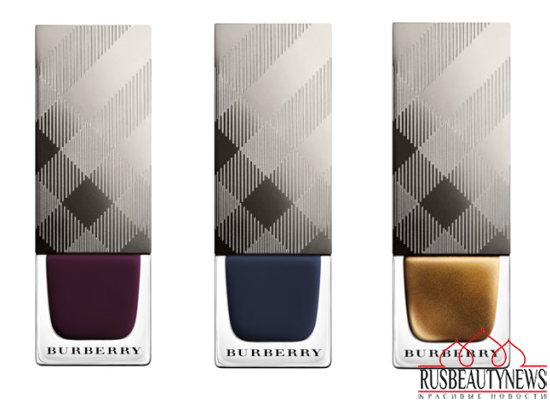 Burberry Bloomsbury Girls Makeup Collection for Fall 2014 nail 2