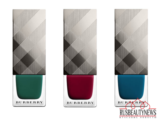 Burberry Bloomsbury Girls Makeup Collection for Fall 2014 nail