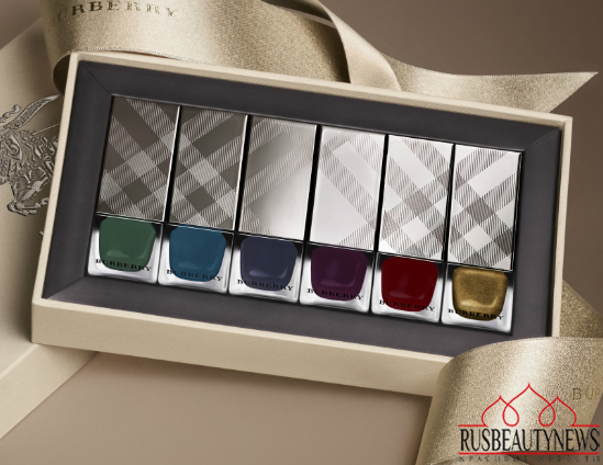 Burberry Bloomsbury Girls Makeup Collection for Fall 2014 nail set2