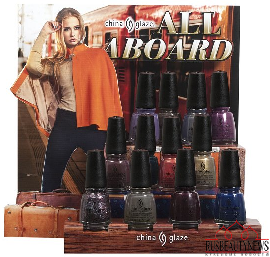 China Glaze All Aboard Fall 2014 Collection