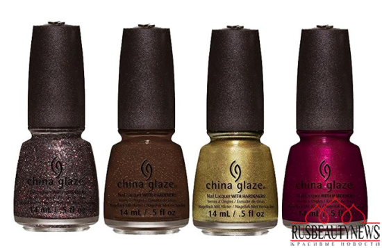 China Glaze All Aboard Fall 2014 Collection 1