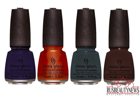 China Glaze All Aboard Fall 2014 Collection 2