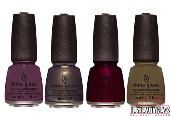 China Glaze All Aboard Fall 2014 Collection 3