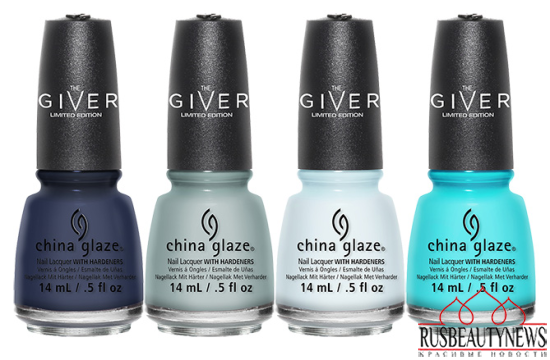 China Glaze The Giver Collection 2