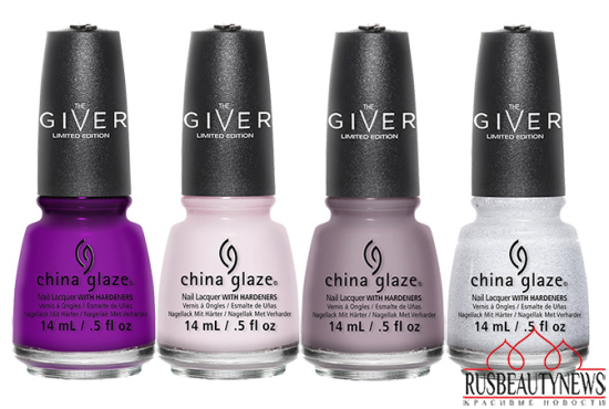 China Glaze The Giver Collection 3