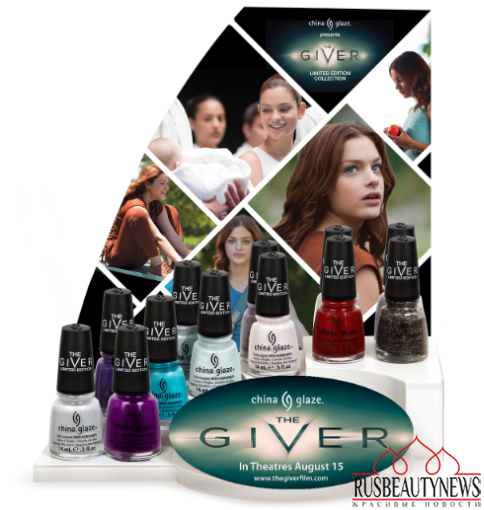 China Glaze The Giver Collection look2