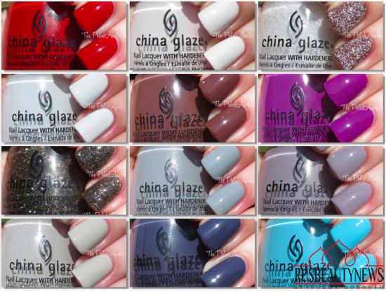 China Glaze The Giver Collection sw