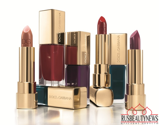 Dolce & Gabbana The Fall Runway 2014 Make-Up Collection look