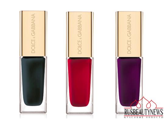 Dolce & Gabbana The Fall Runway Collection Fall 2014 nail