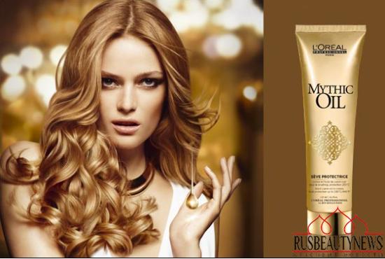 L'Oréal Professionnel Mythic Oil Sève Protectrice look1