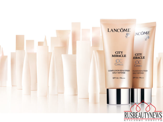 Lancome City Miracle CC Cream look1