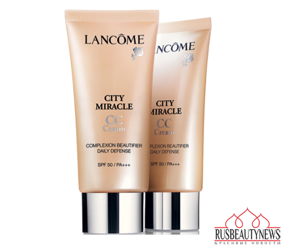 Lancome City Miracle CC Cream look2