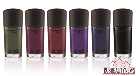 MAC Romance Novel Fall 2014 Collection nail