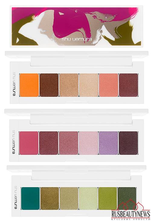 Shu Uemura Brave Beauty Fall 2014  eye palette