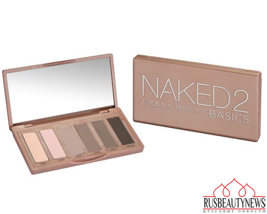 Urban Decay Naked2 Basics look