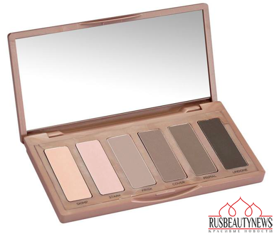 Urban Decay Naked2 Basics look2