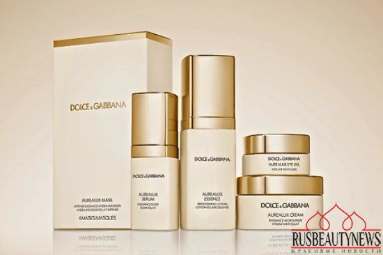 skin care from Dolce & Gabbana look3