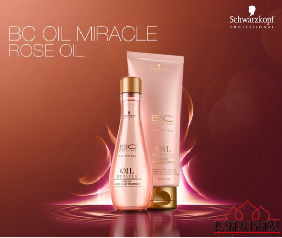 BC OIL MIRACLE ROSE OIL Schwarzkopf Professional
