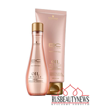 BC OIL MIRACLE ROSE OIL Schwarzkopf Professional look2