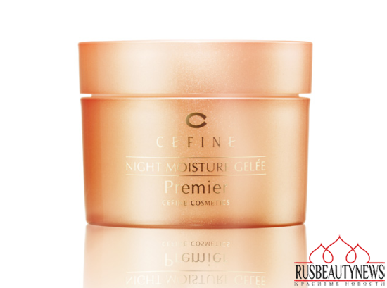 CEFINE  NIGHT MOISTURE GELÉE Premier