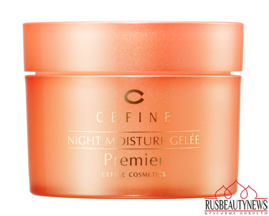 CEFINE  NIGHT MOISTURE GELÉE Premier look2
